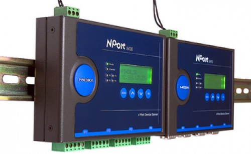MOXA Serveur Serial device Industrial Ethernnet - 4 ports -