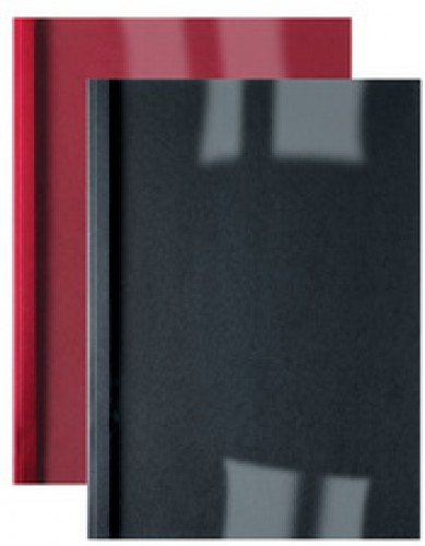 GBC couverture thermique lin ThermaBind - A4  - 4 mm - rouge