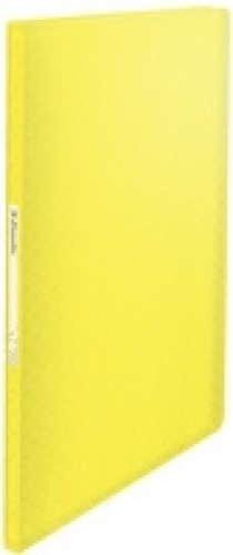 Porte-documents A4 Colour'Ice Jaune, 40 pochettes