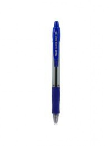 stylo supergrip bleu
