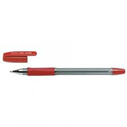 Stylo a bille PILOT  BPS-GP - mine : 0.6 mm - encre rouge