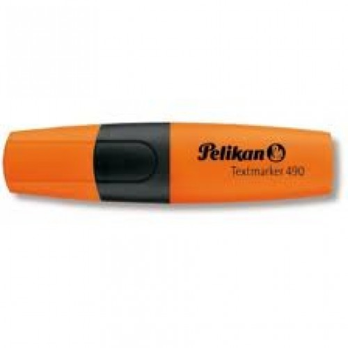 Surligneur-Stylo-feutre-490-orange-fluo