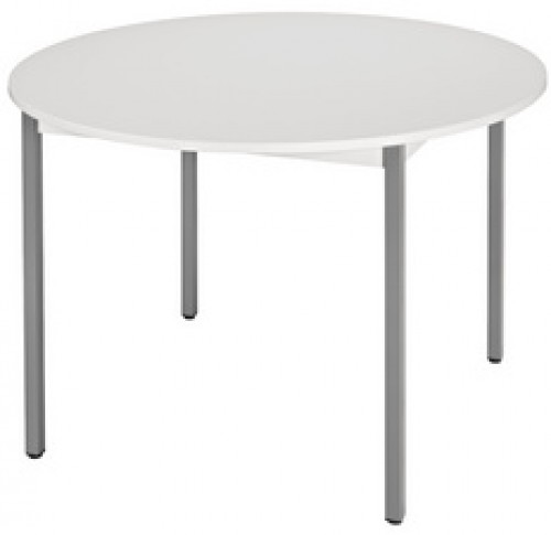 Table ronde universelle gris clair gris