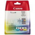 Pack 3 cartouches pour Canon Pixma IP4200/IP5200/IP5200R