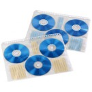 Hama Pochette CD/DVD - format A4 - pour 6 CD - transparent/blanc