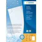 HERMA Outdoor film - autocollant - 63 -5 x 33 -9 mm - blanc