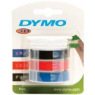 Ruban 3D Dymo Junior Omega - 9 mm – noir