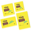 3M Post-it notes Super Sticky - 127 x 76 mm - jaune