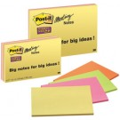 "Post-it  3M ""Super Sticky"" - bloc-notes - 149 x 200 - 4 couleurs"