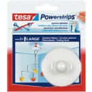 Tesa Powerstrips crochet plafon - blanc - force de fixation: