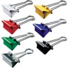 Pince double clip - assorti - (L)32 mm - ecartement: 13 mm