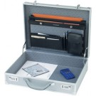 Attache-case OCTAN - aluminium - couleur argent