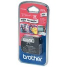 Cassette ruban Brother M-K521 - 9 mm - noir / bleu