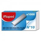 Maped Agrafes No. 10 - zingues - contenu: 1.000 agrafes