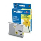 Cartouche jet d'encre Brother LC970Y (LC-970Y) - jaune