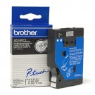 Brother TC-Tape TC-101A cassette de ruban Largeur: 12mm - 10 cassettes