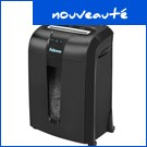 Destructeur de documents 73Ci - Fellowes - croisée 4 x 38 mm - 12 feuilles