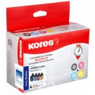 Kores Multi-Pack Encre pour Brother DCP-J125/DCP-J315W