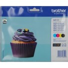Cartouches d'encre Brother LC-123VALBPDR - Multipack