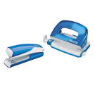 Agrafeuse et perforatrice pack WOW - bleu