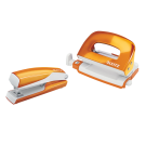 Agrafeuse et perforatrice pack WOW - orange