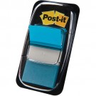 3M Post-it Index turquoise - etroit - 50 Index - 25,4 x 43,2 mm
