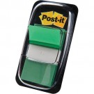 3M Post-it Index vert - etroit - 50 Index - 25,4 x 43,2 mm