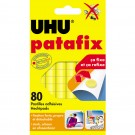 UHU Pâtes adhésives patafix - repositionnable - decollable - jaune