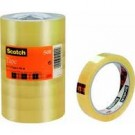 3M Scotch adhésif 508 - 19 mm x 66 m - transparent