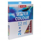 24 couleurs aquarelle kitcreation
