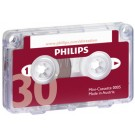PHILIPS Mini cassette - 2 x 15 minutes