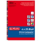 "Herlitz Papier universel ""Colourmix"" - A4 - 80 g - assorties intensives"
