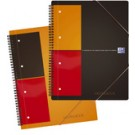 "Oxford International Cahier ""FILINGBOOK"" - ligne - format A5+"