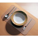 Set de table - polycarbonate - (L)430 x (P)270 mm - transparent