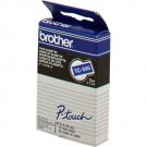Brother TC-Tape TC-595 cassette de ruban - Largeur de bande 9 mm - blanc / bleu