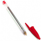 Stylo a bille Bic Cristal: rouge