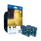 LC1100BKBP2 cartouche Brother double pack noir