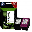 lot de 2 cartouches HP 62