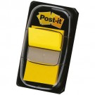 marque page autocollant index post-it jaune