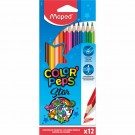 paquet de 12 crayons de couleur maped color peps