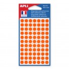 pastille de signalisation orange diametre 8 mm