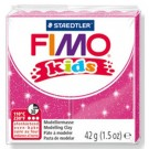 pâte fimo kids rose paillette