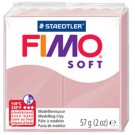pate fimo rose tendre