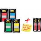 Post-it Index repositionnables pack promotionnel 4